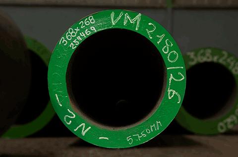 Barra perforada ST52 - AUSA