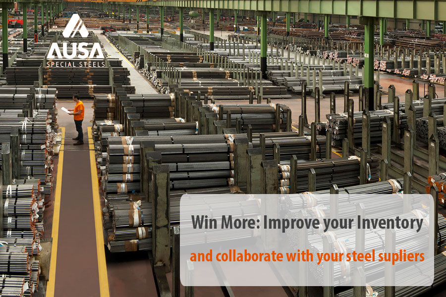 AUSA special steels | Win More: Improve your inventory and
