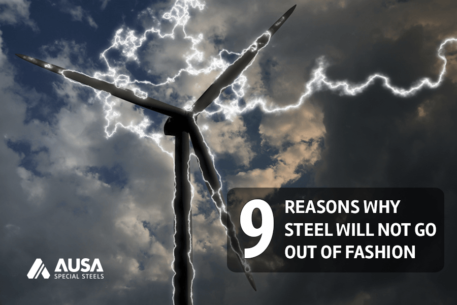 9 Reasons Steel AUSA